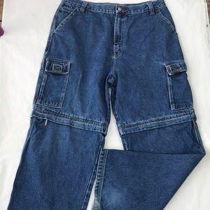 Men's vintage Bugle Boy Zip Length Jeans Size 38